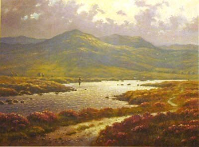 Rannoch Moor by James Preston -  sized 13x10 inches. Available from Whitewall Galleries